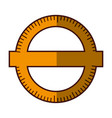 compass ruler school vector image
