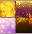 creative bokeh abstract texture colorful blur vector image vector image