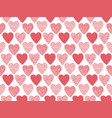 Hand drawn valentine hearts seamless pattern