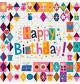 Happy Birthday 11 vector image vector image