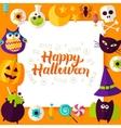 Happy Halloween Paper Concept vector image vector image