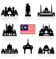 Malaysia Icon vector image vector image