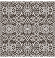 White fantasy contrast seamless pattern background vector image vector image