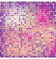 pink square mosaic effect vector image
