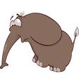 The elephant calf vector image