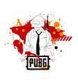 playerunknowns battlegrounds pubg vector image vector image