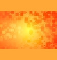 red orange yellow glowing various tiles background vector image