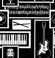 Seamless pattern musical attributes
