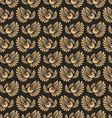 Seamless pattern with firebird vector image