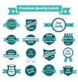 set product price tags vector image vector image