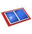 solar panel for alternative vector image vector image