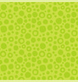 abstract green seamless pattern of circles vector image