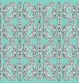baroque embroidery seamless pattern light vector image vector image