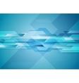 Blue shiny hi-tech motion layout background vector image vector image