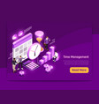 business page design vector image vector image