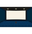 Empty cinema vector image