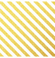 gold glittering lines pattern on white vector image vector image