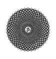 hand drawn chakra sahasrara vector image vector image