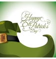 Happy Saint Patricks day design vector image