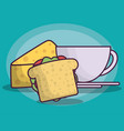 sandwich icon image vector image