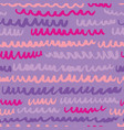 seamless pattern with waves stripped artistic vector image vector image