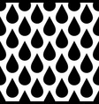 black rain drop seamless pattern background water vector image vector image