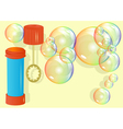 bubble toy vector image