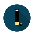 cartridge with a bullet vector image