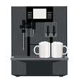Coffee machine vector image