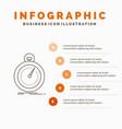 done fast optimization speed sport infographics vector image