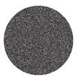 halftone circle banner vector image vector image