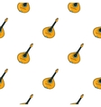 Italian mandolin icon in cartoon style isolated on vector image