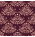 Persian seamless floral pattern vector image vector image