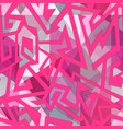 pink maze seamless pattern vector image