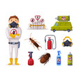 professional home pest service detecting vector image vector image