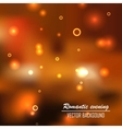 romantic evening background vector image vector image