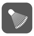 The badminton icon Shuttlecock symbol Flat vector image vector image