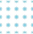 Unique Snowflake seamless pattern