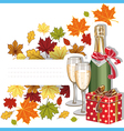 Autumn holiday vector image vector image