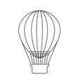 ballon holiday icon vector image