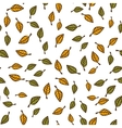 Leaf seamless pattern background vector image vector image