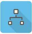Network icon vector image