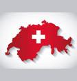 switzerland country design vector image