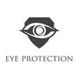 Eye protection symbols vector image vector image