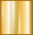 gradient of yellow gold vector image vector image