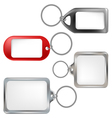 Key ring set vector image vector image