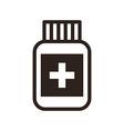 Pill symbol vector image vector image