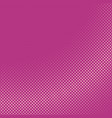pink retro abstract halftone diagonal square vector image vector image