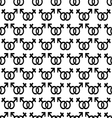 Seamless Male Female Pattern Background vector image vector image