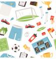 soccer footballer or soccerplayer in vector image